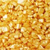 Cukor dekoračný - zlatý